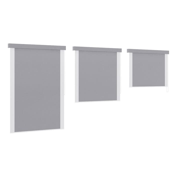 Grey Window Blinds