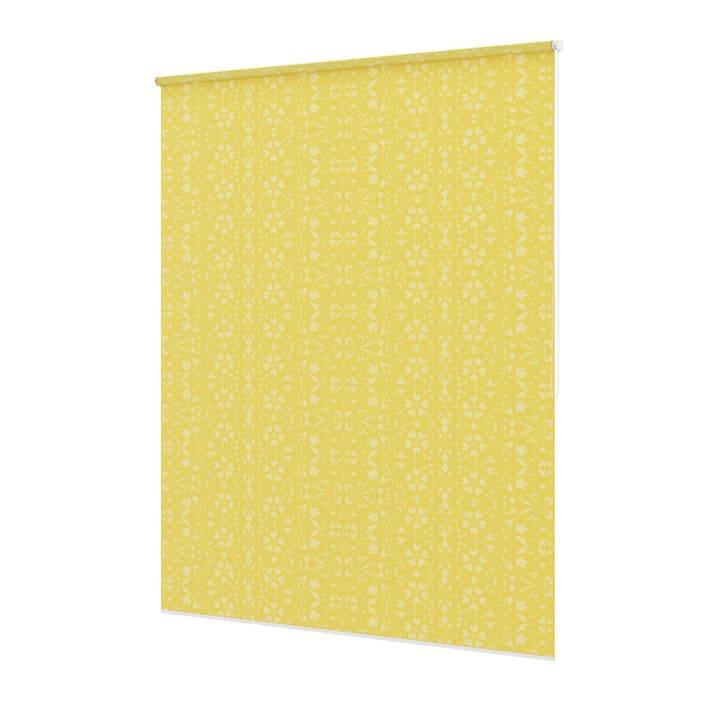 Yellow Window Blinds