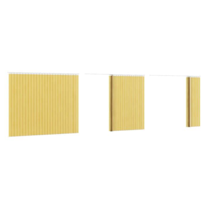 Vertical Yellow Blinds