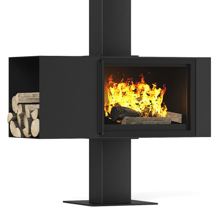 Floor Standing Fireplace