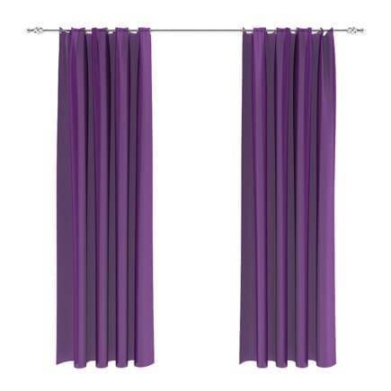 Violet Curtains