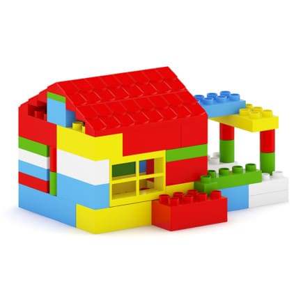 Plastic Blocks Toy
