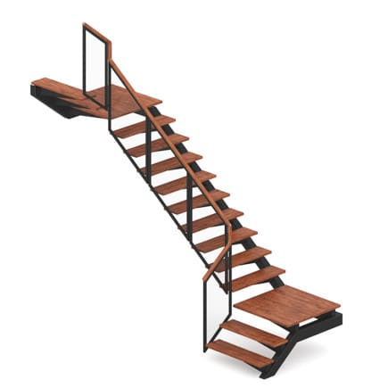 Wooden Stairs 14