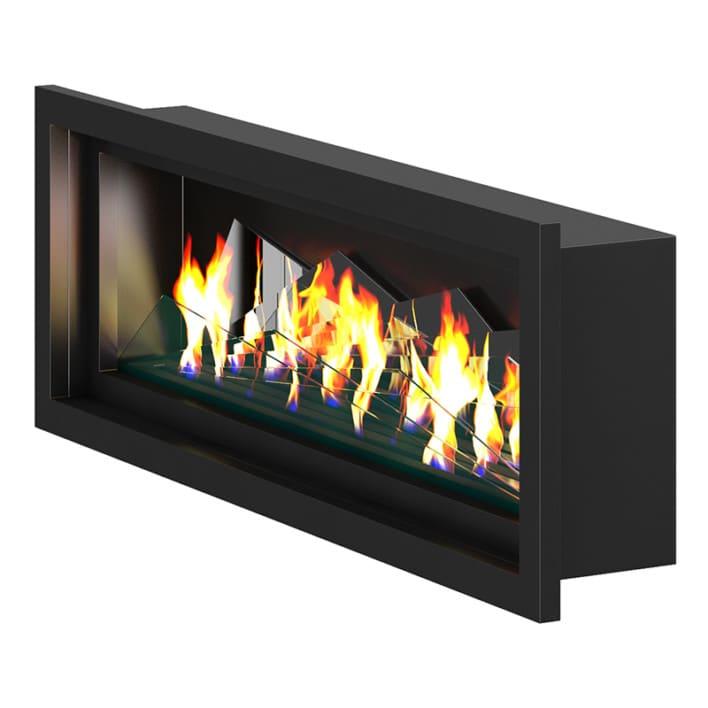 Wall Gas Fireplace 2