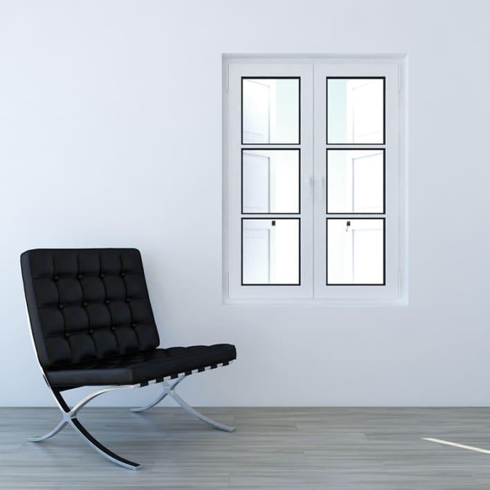 White External Shutters