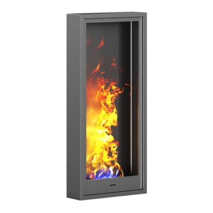 Wall Gas Fireplace 3