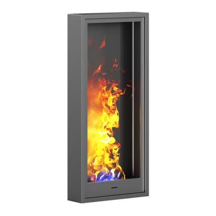 Wall Gas Fireplace 3