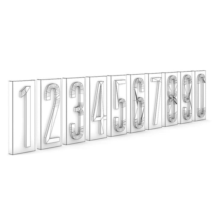 Wall Numbers (0 - 9)
