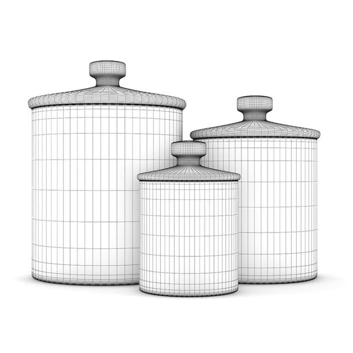 Glass Jars 1