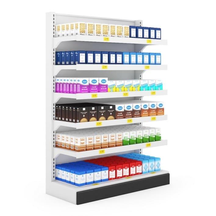 Supermarket Shelf 02