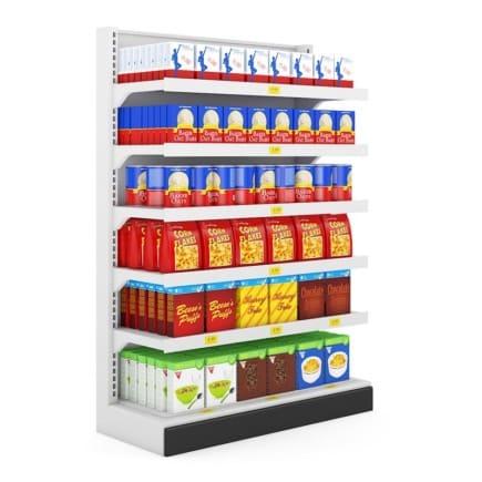 Supermarket Shelf 07