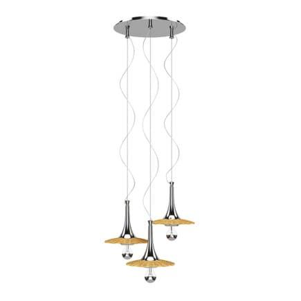 Wicker Ceiling Lamp