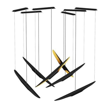 Ceiling Lamps Set 1