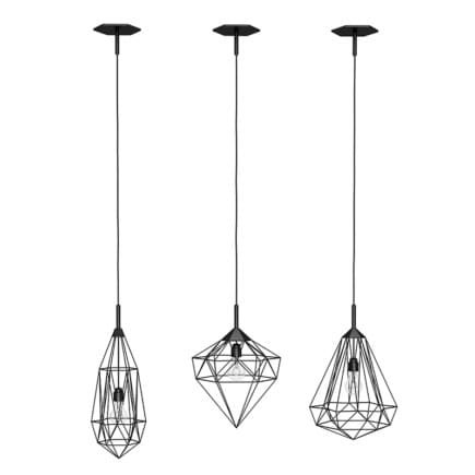 Ceiling Lamps Set 2