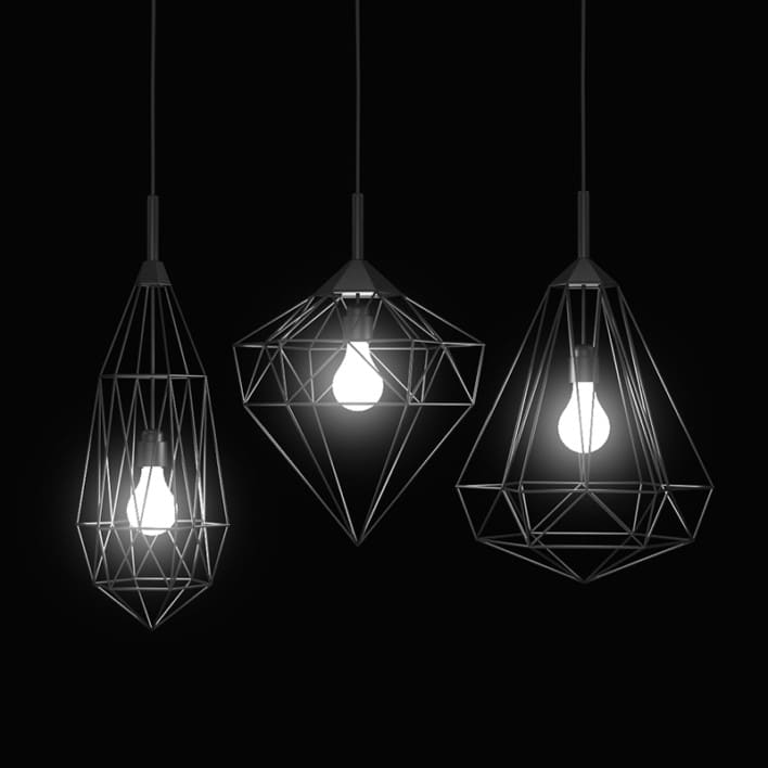 Ceiling Lamps Set 2