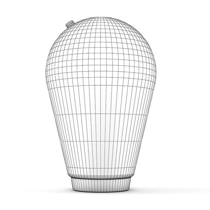Glass Standing Lamp