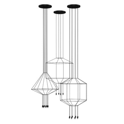 Ceiling Lamps Set 4