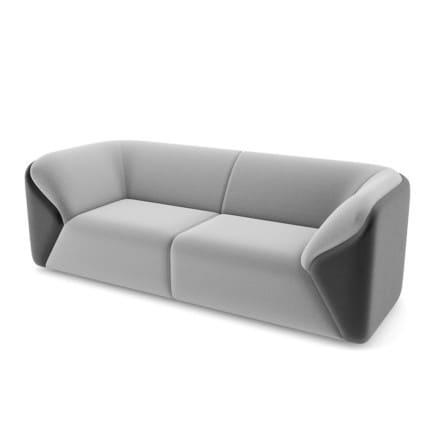 Black-Grey Sofa