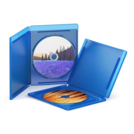 Open Blu-Ray Cases