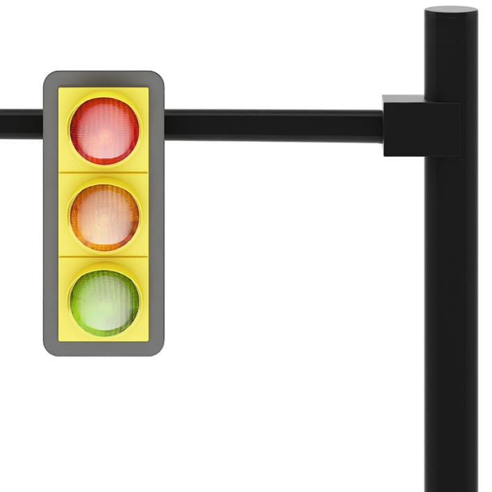 Traffic Lights (over road)