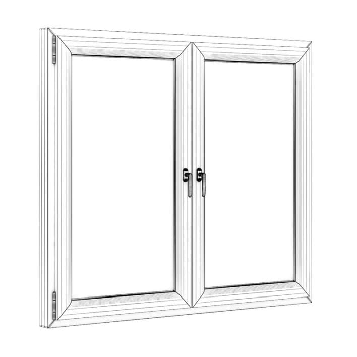 Wooden Window 1730mm x 1500mm