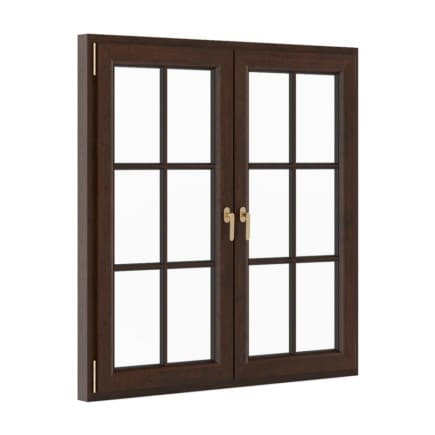 Wooden Window 1530mm x 1600mm