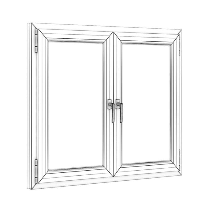 Plastic Window 1322mm x 1120mm