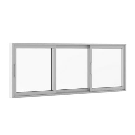 Sliding Metal Window 3520mm x 1283mm
