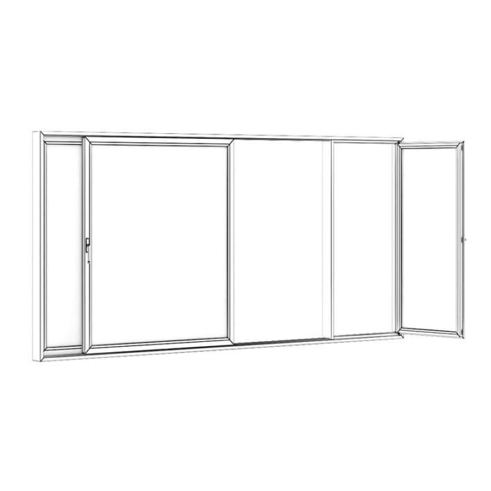 Sliding Metal Doors 5120mm x 2500mm