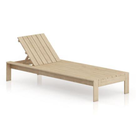 Wooden Sunbed