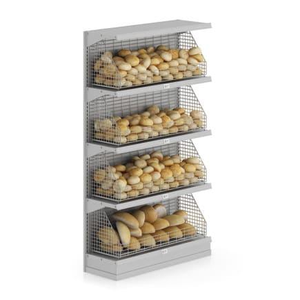 Market Shelf - Breads and buns