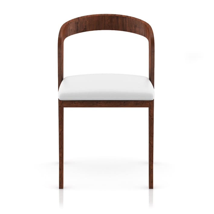 Wooden Chair with Pillow 3