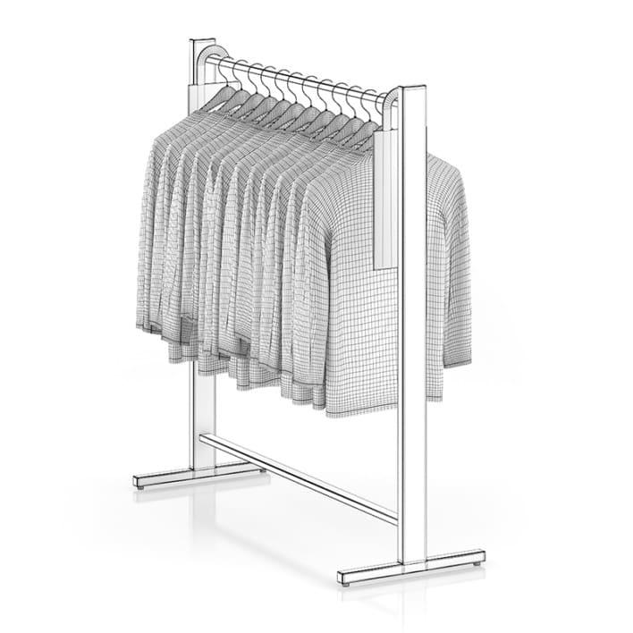 Sweaters on Hangers
