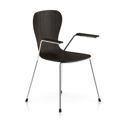 Wood and Metal Chair 2