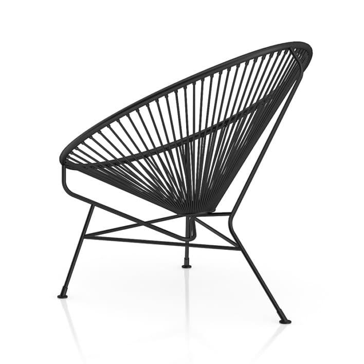 Round Black Wire Chair