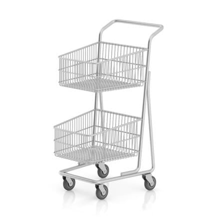 Double Shopping Cart