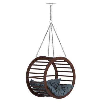 Round Wooden Swing