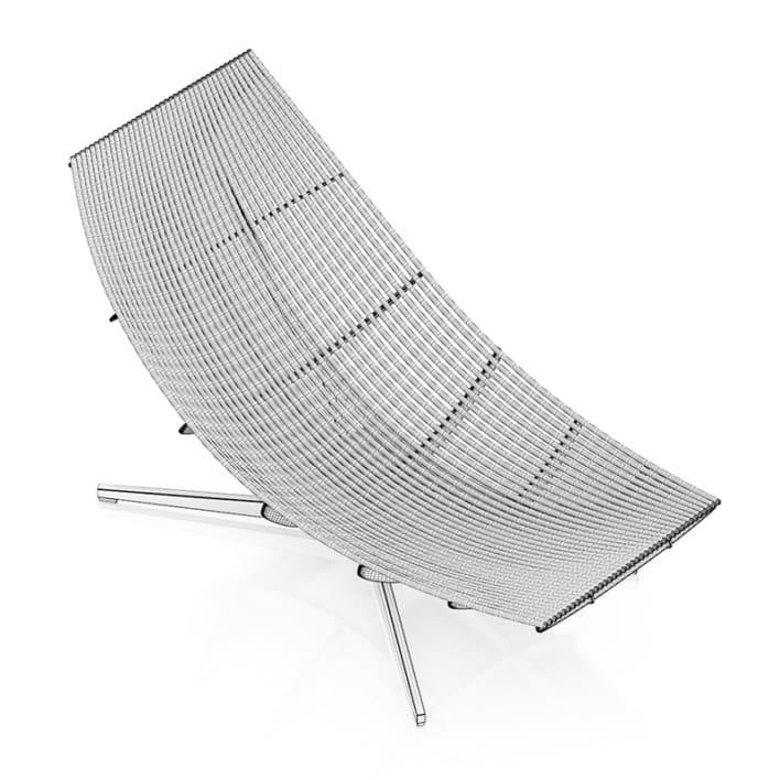 Black Modern Lounge Chair