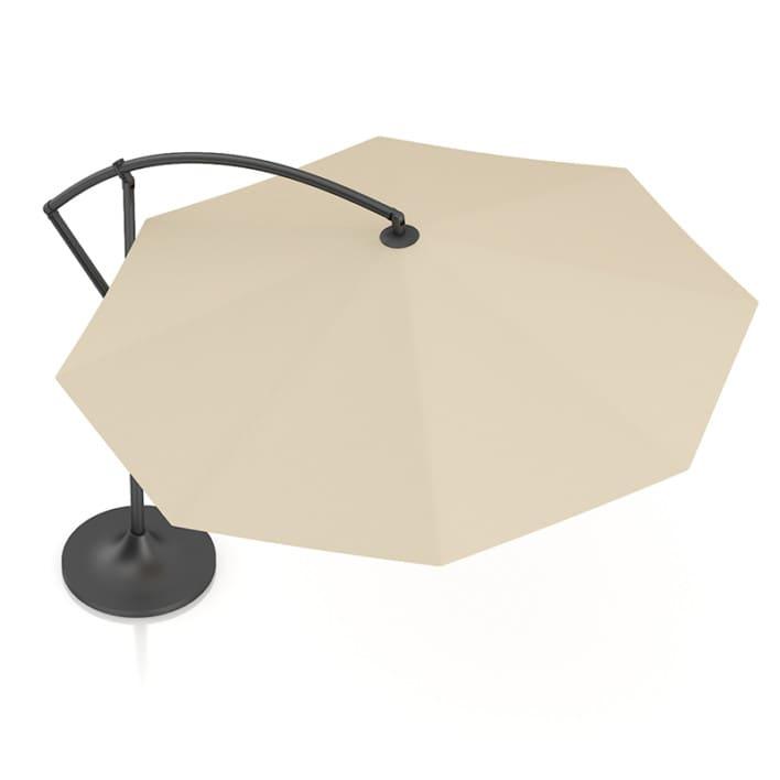 Round Beige Sunshade Umbrella 2