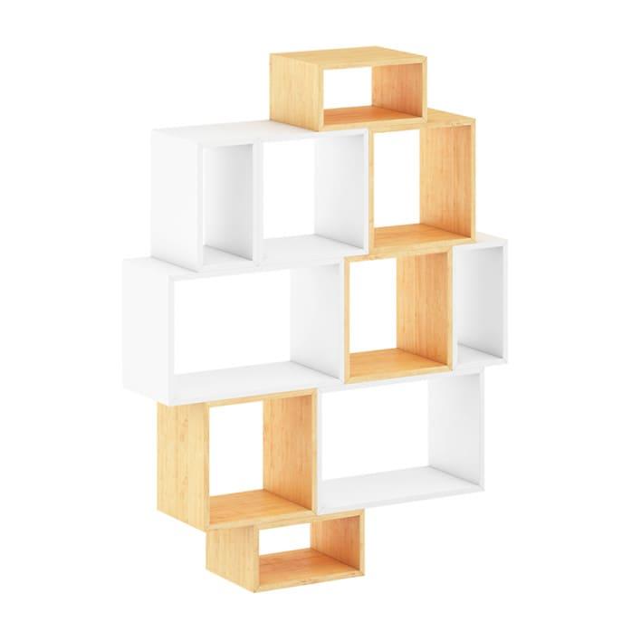 White and Wood Shelf