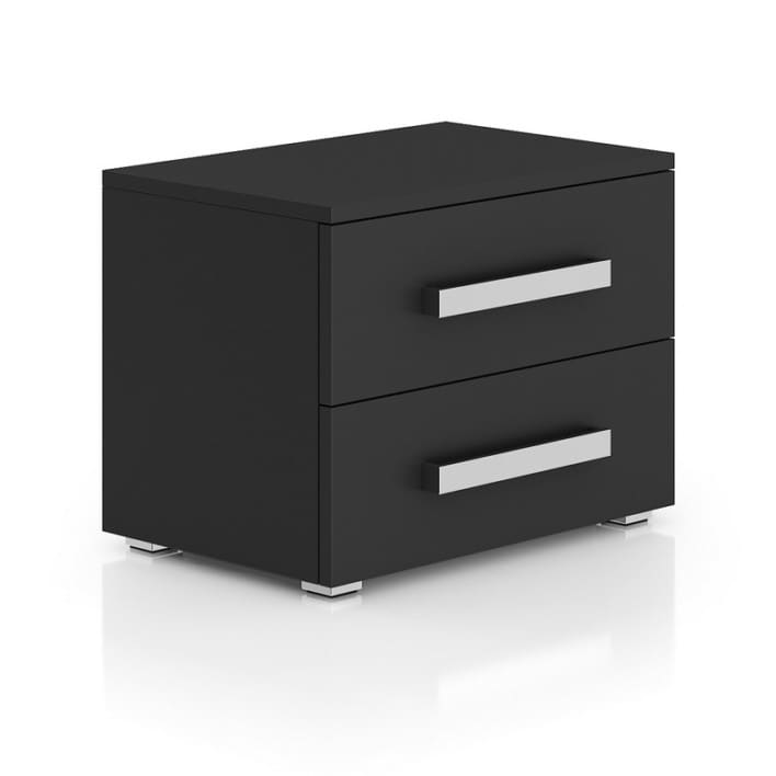 Dark-grey Bedside Cabinet