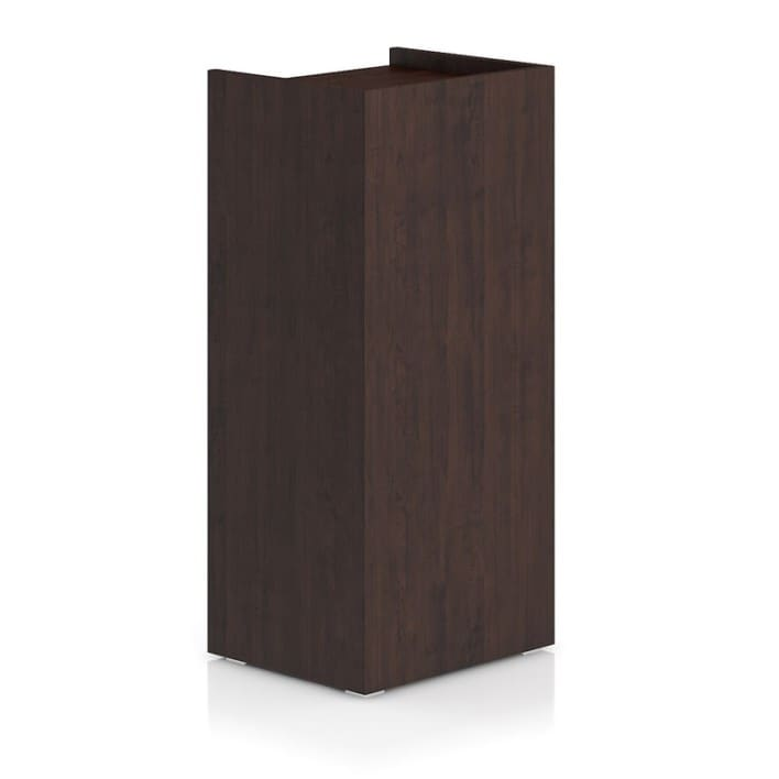 Tall Wooden Cabinet with Five Drawers