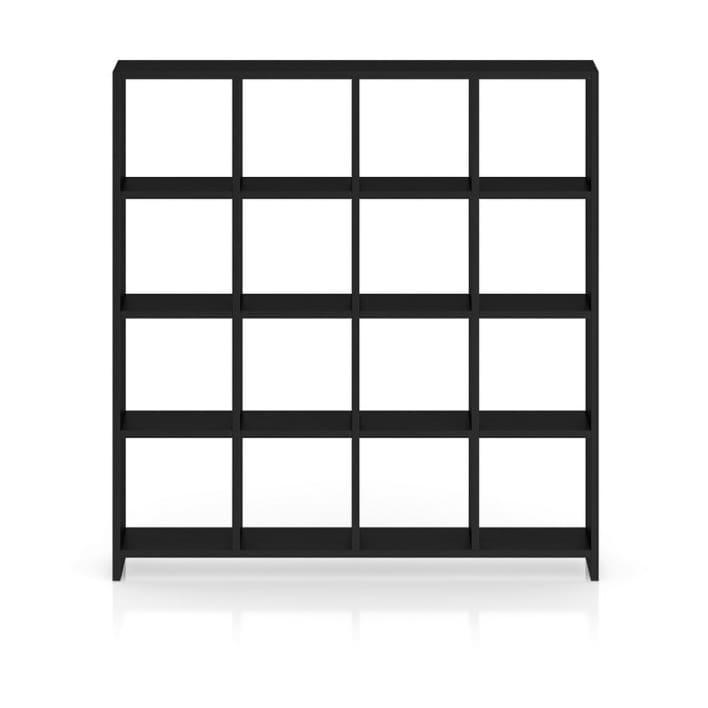 Black Wood Standing Shelves