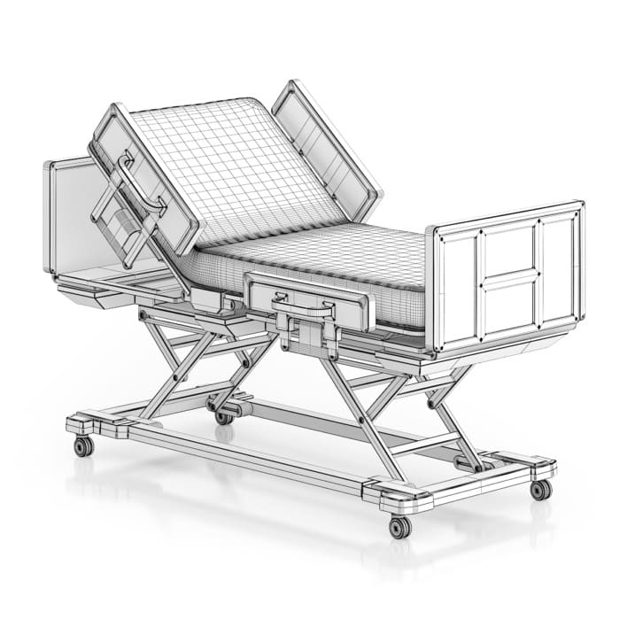 Advanced Hospital Bed