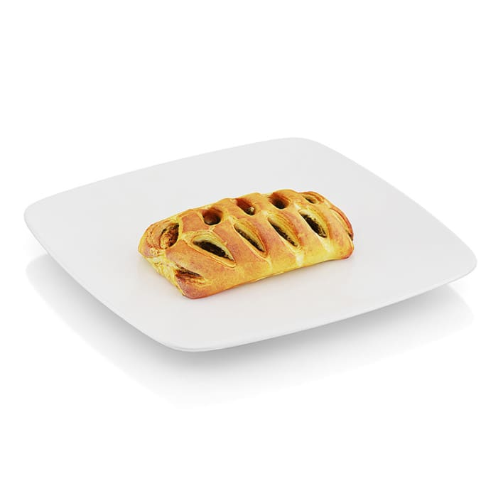 Pastry with spinach