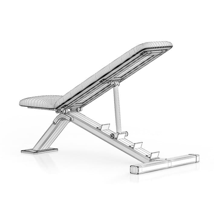 Adjustable Gym Bench