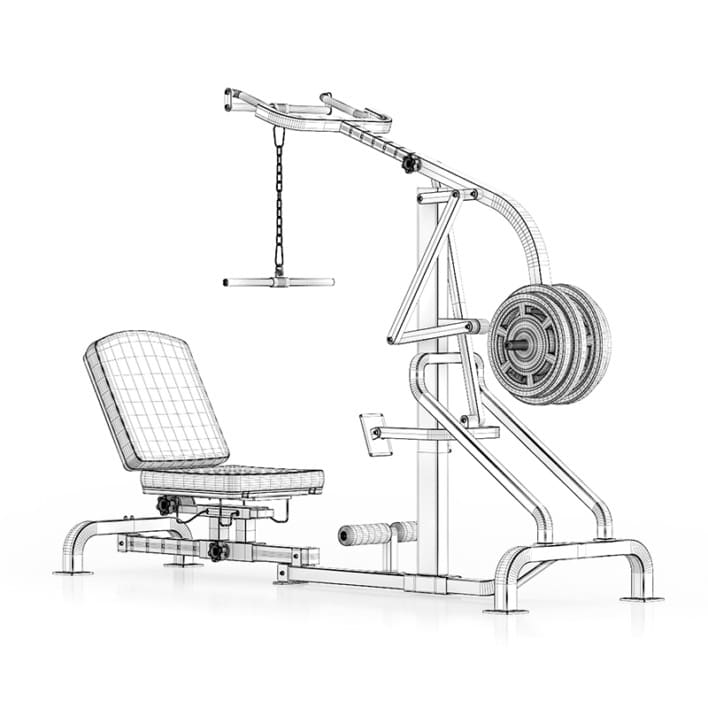 Lever Gym Machine