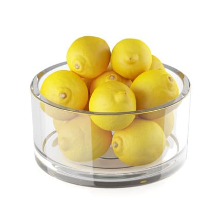 Bowl of lemon fruits