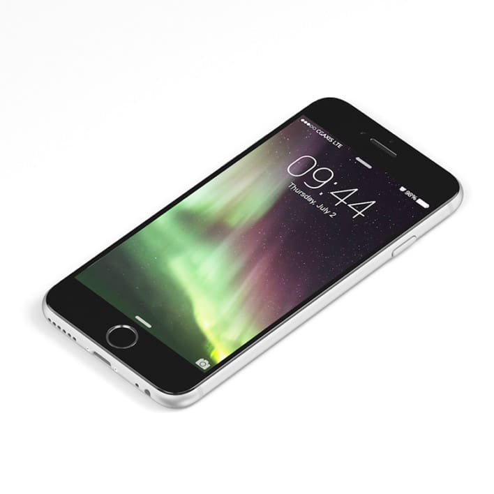 Black smartphone