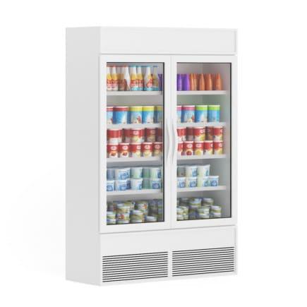 3d Market Refrigerator
